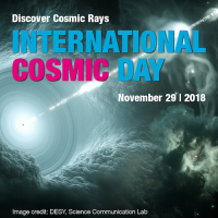 ICD - Become a Scientist for a Day. Discover the world of cosmic rays like an astroparticle physicist
