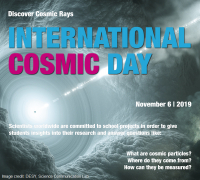 Gli studenti EEE partecipano all'International Cosmic Day 2019