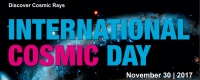 International Cosmic Day 2017